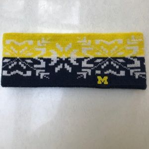 University of Michigan headband
